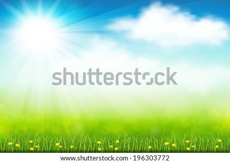 vector illustration green