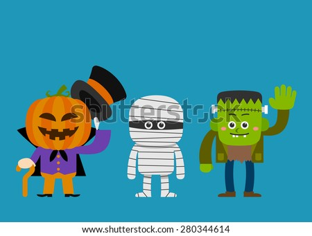 vector illustration   halloween