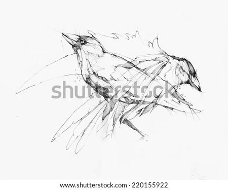 vector illustration  hand
