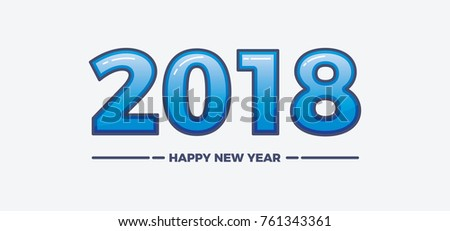 happy new year 2018 theme