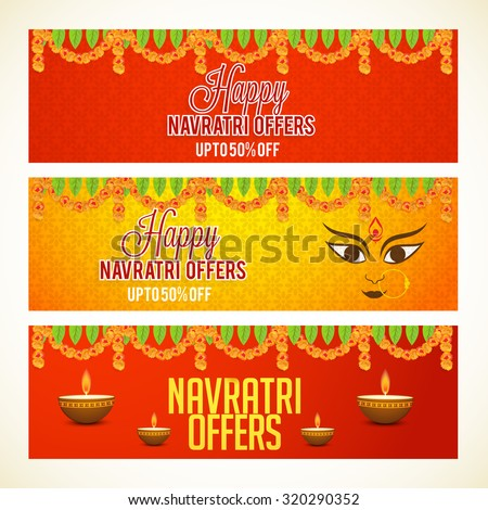 vector illustration header or