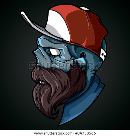 vector illustration hipster