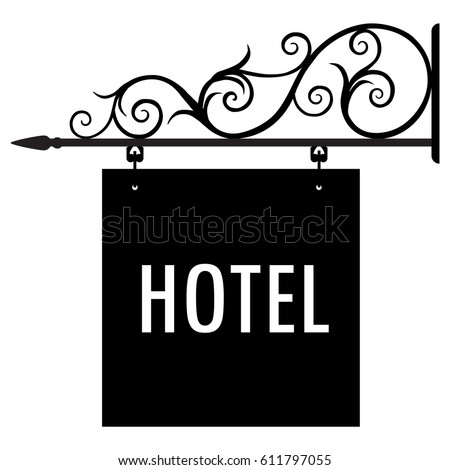 vector illustration hotel...