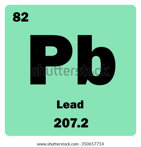 the chemical element of lead