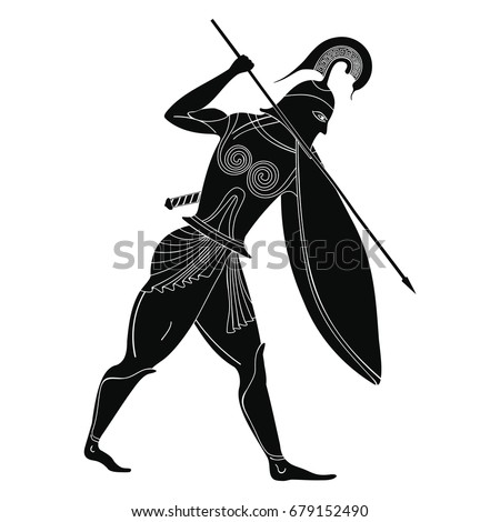 vector illustration in ancient