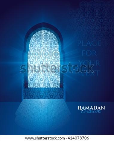 vector illustration in blue