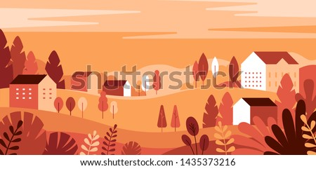 vector illustration in simple