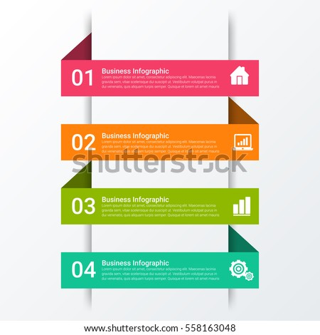 Vector illustration infographics. Template for brochure, business, web design