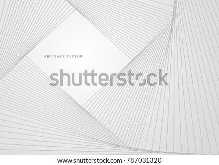 Vector illustration. Light bright colors linear wavy lines for backdrop. Abstract background.