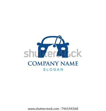 Vector Illustration : Logo Design For Car Sell or Buy