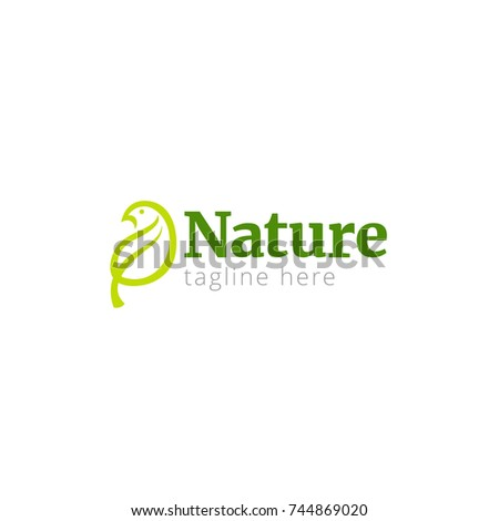 vector illustration logo nature