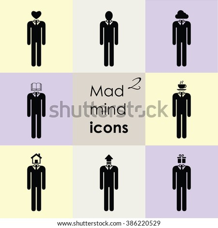 vector illustration   man sign