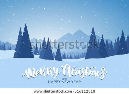 vector illustration  merry