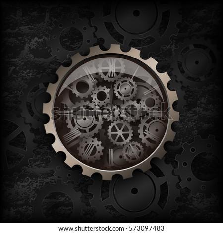 vector illustration metal