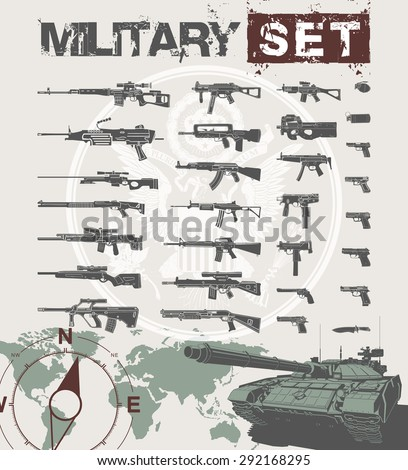 vector  illustration military