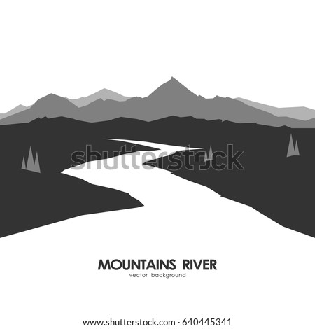 vector illustration  monochrome