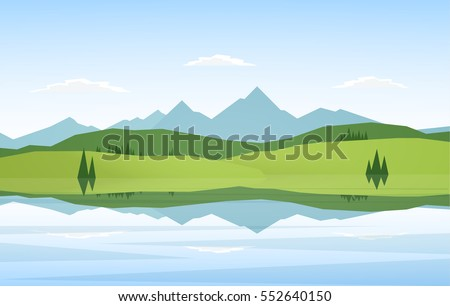 vector illustration  mountain