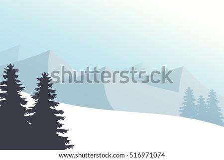 vector illustration mountain