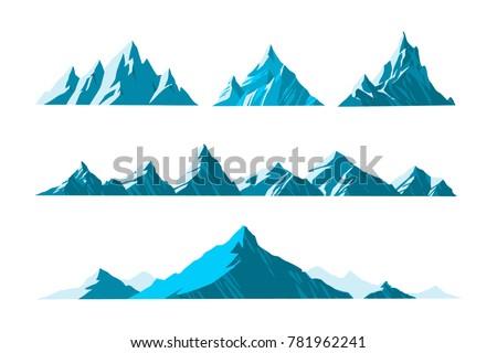 vector illustration mountains