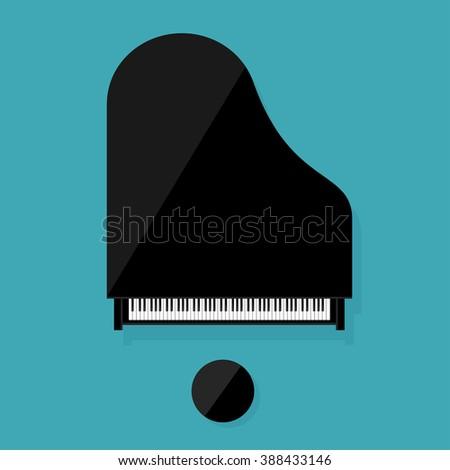 vector illustration musical