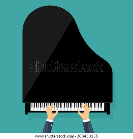 vector illustration musical