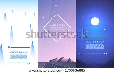 vector illustration nature