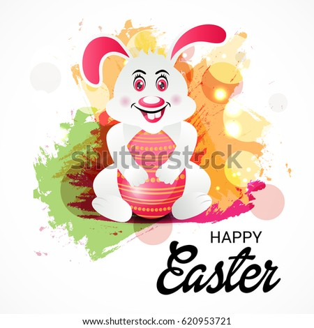 Vector illustration of a Banner for Happy Easter. #620953721