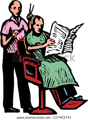 Of a barber giving haircut to a man 127403741 shutterstock