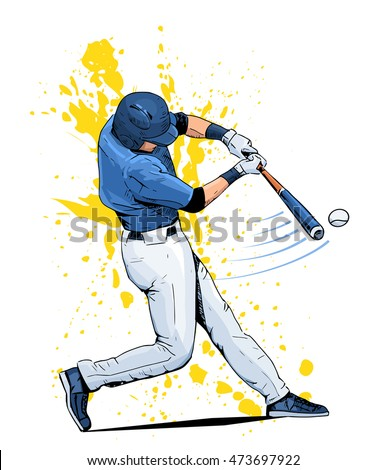 stock-vector-vector-illustration-of-a-baseball-player-hitting-the-ball-beautiful-sport-themed-poster-abstract