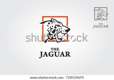 Vector illustration of a big cat jaguar