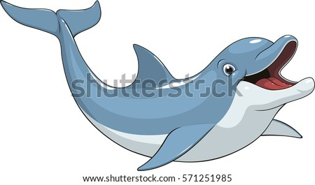 vector illustration of a funny