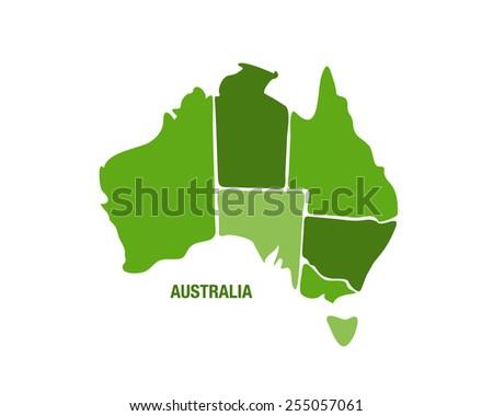 Map Of Australia Logo.Australia Map Vector Download Free Vector Art Stock Graphics Images