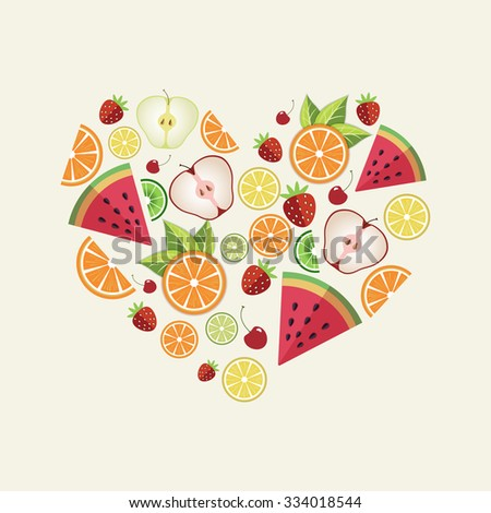 vector illustration of a heart