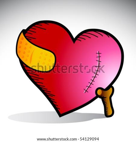 vector illustration of a heart