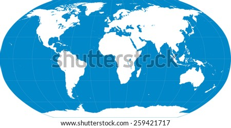 World Map With Latitude And Longitude Download Free Vector Art - Earth political map