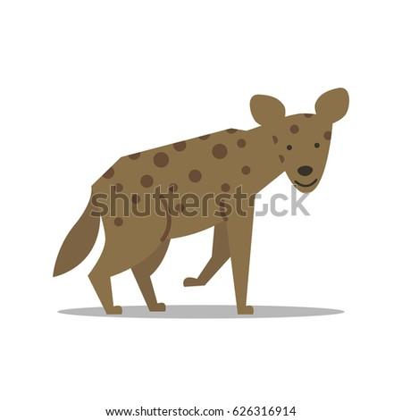 Vector Illustration of a Hyena