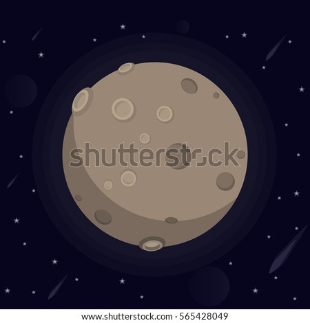 vector illustration of a large