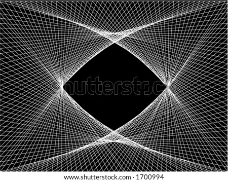 Vector illustration of a linear pattern.