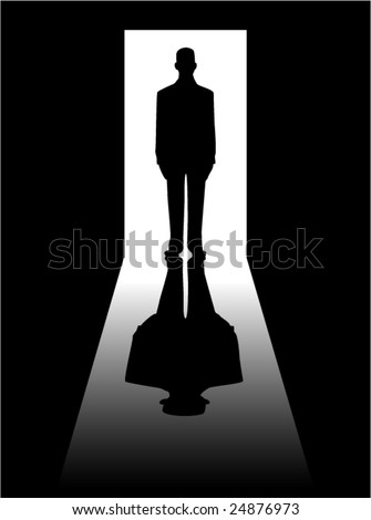 vector illustration of a man's