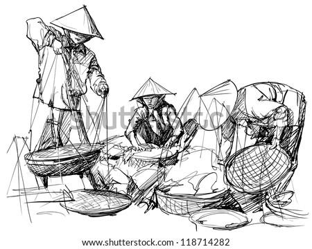 Вьетнамский рисунок
