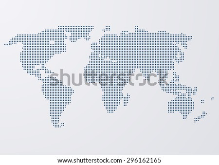 vector illustration of a world