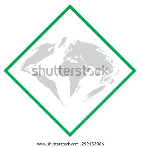 vector illustration of a world