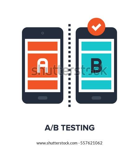 vector illustration of ab