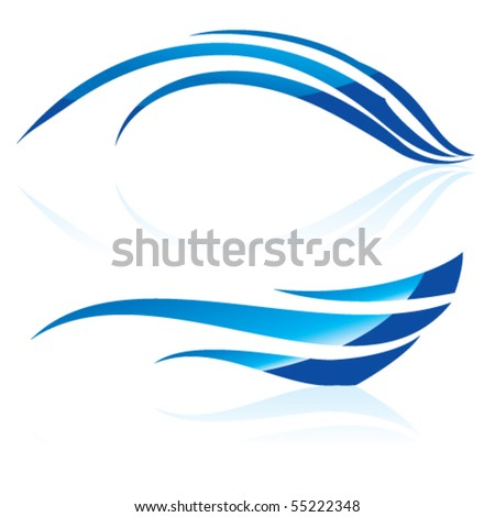 stock-vector-vector-illustration-of-abstract-blue-waves-on-white-background
