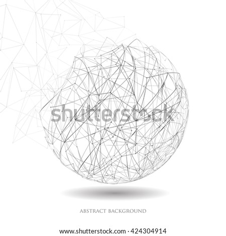 Vector illustration of abstract geometric background