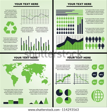 Vector illustration of an infograph.