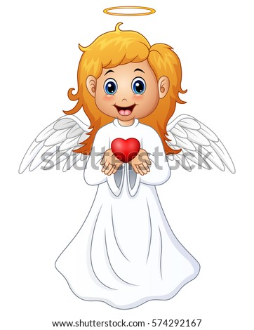 vector illustration of angel
