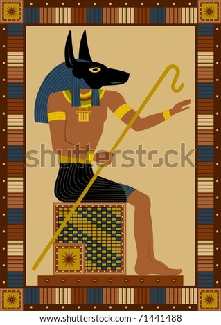 jackal anubis. of Anubis, a jackal-headed