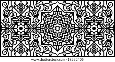 Arabic Floral Pattern Motif Arabic Floral Pattern Motif, Based On