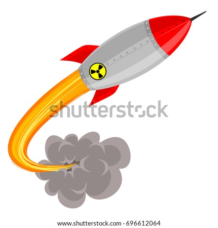 vector illustration of  atomic